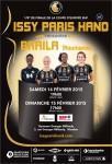 Affiche Issy Paris Hand 14-15 février 2015