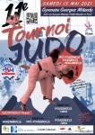 Affiche tournoi judo 15 mai 2021