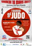Affiche tournoi judo 18 mars 2017