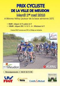 Grand prix cycliste de la ville de Meudon, mardi 1er mai 2018