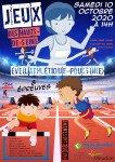 Affiche Jeux des Hauts de Seine 10 octobre 2020